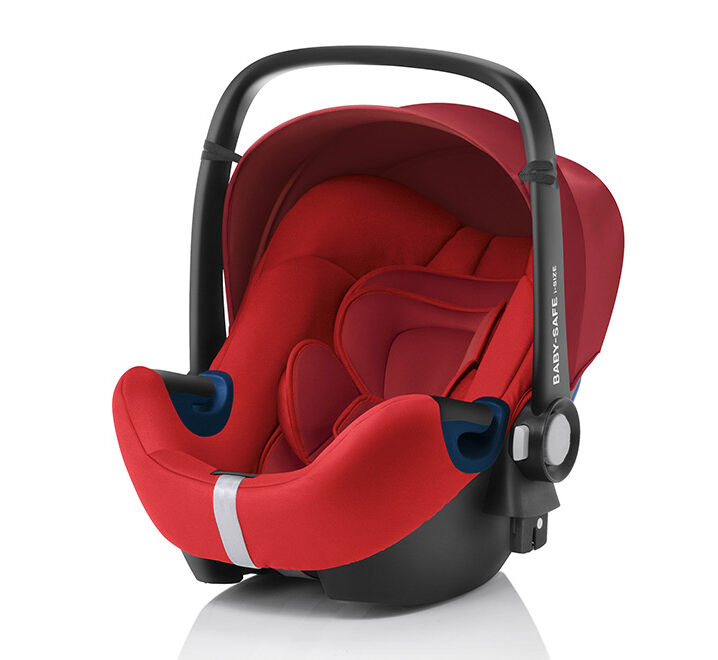 Die SEAT Babyschale Peke Go I-Size in rot