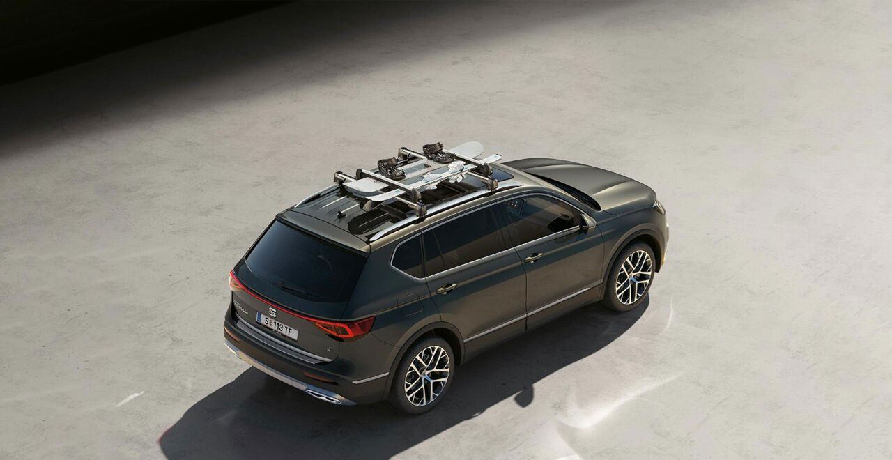 Dachbox am neuen SEAT Tarraco